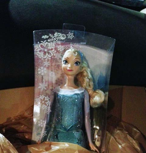 Elsa doll 2