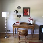 Cannon House Staging:  Foyer and Living Room