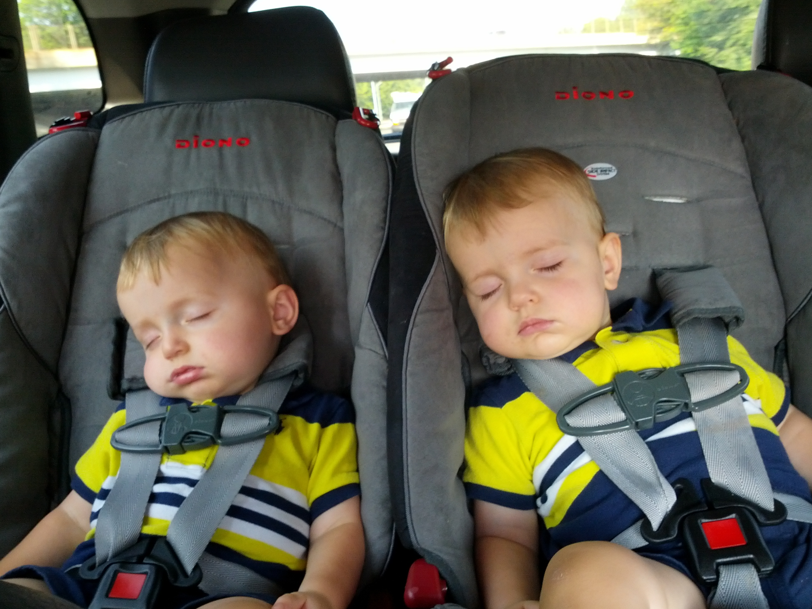 diono car seats three in suv sleeping babies bringing up bebe