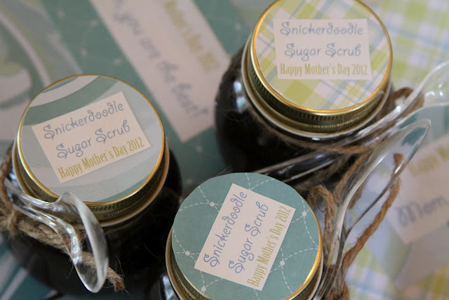 handmade sugar scrubs for mother's day preschool presents crafts