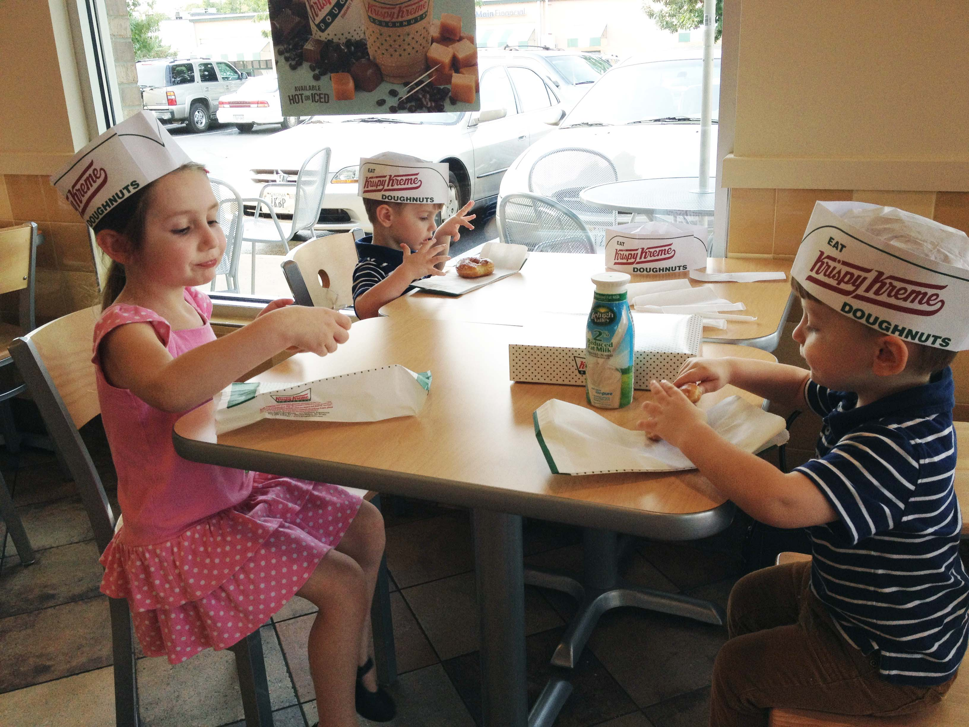 Krispy Kreme hats