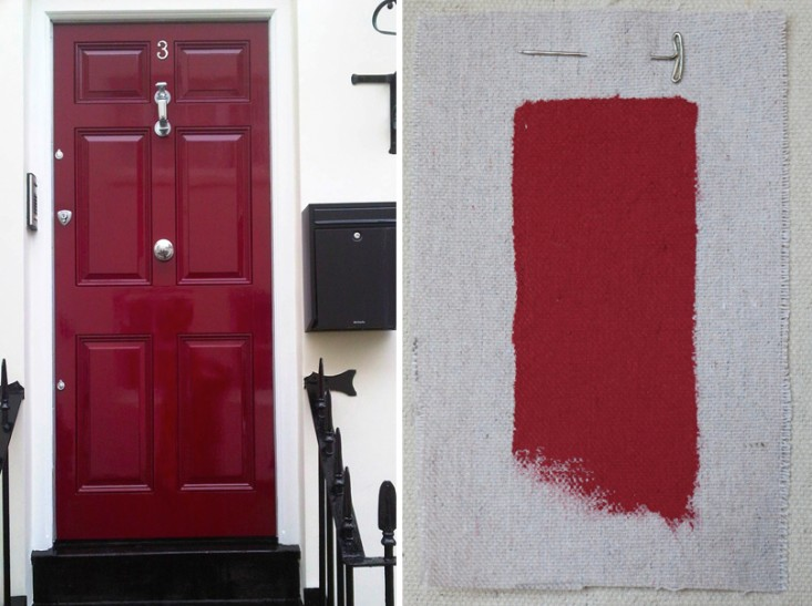 Benjamin moore front door paint colors - Considering Painting The Front Door A Cherry Red One Day While