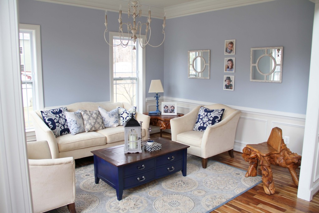 Blue Living Room Navy Coffee Table