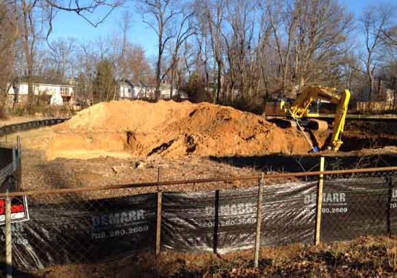 foundation dig