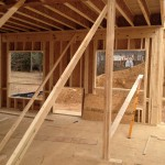 New Construction Update:  Framing main level and upstairs