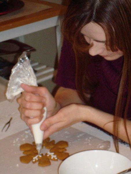 gingerbread snowflake cookies 3