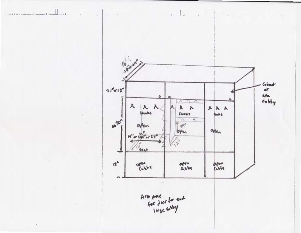 Mudroom Cubbies Plans Mudroom Cubbies To Be Put That On Your Blog