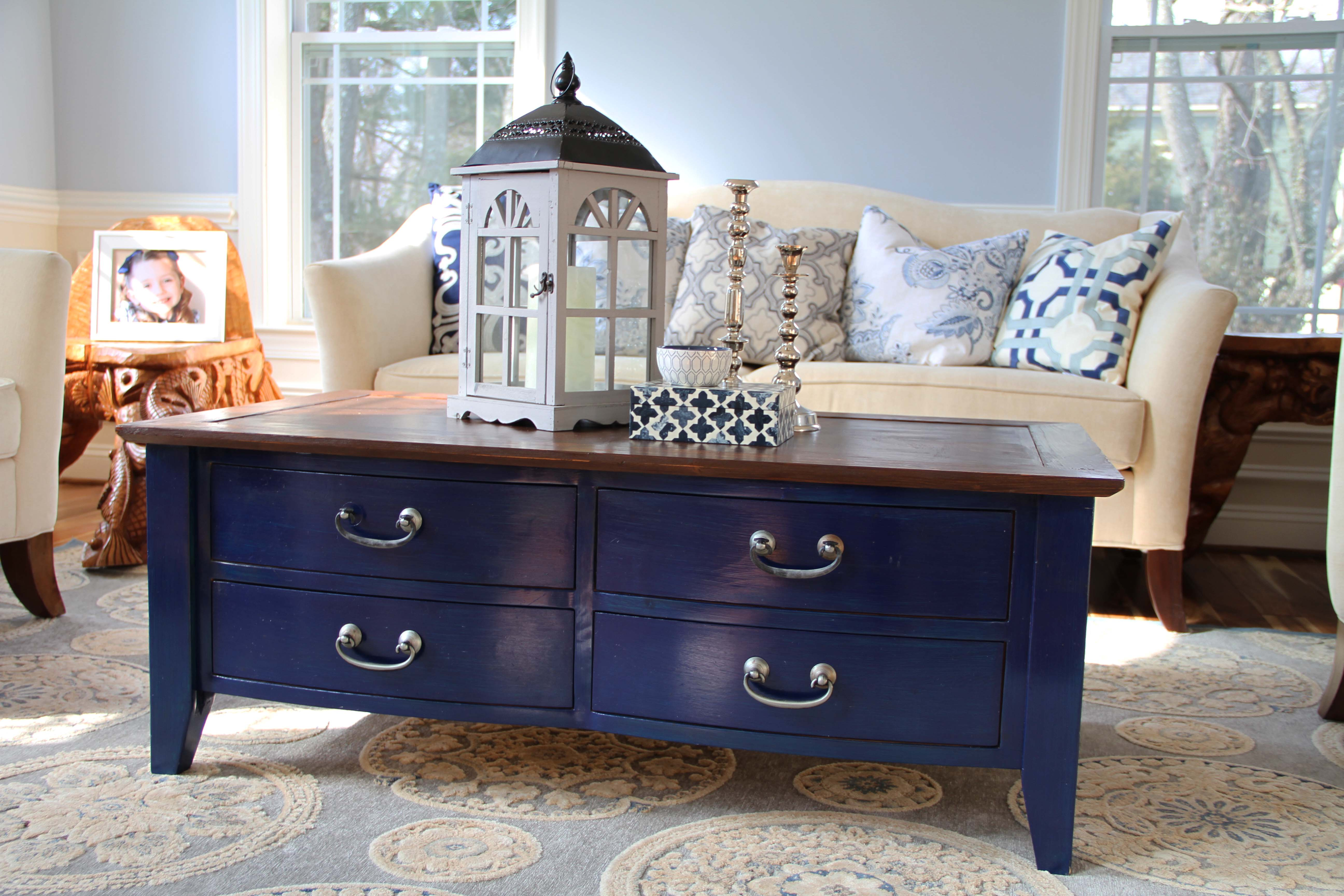 Navy Blue Coffee Table CoffeTable