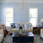 Living Room Stencil Sneak Peek!