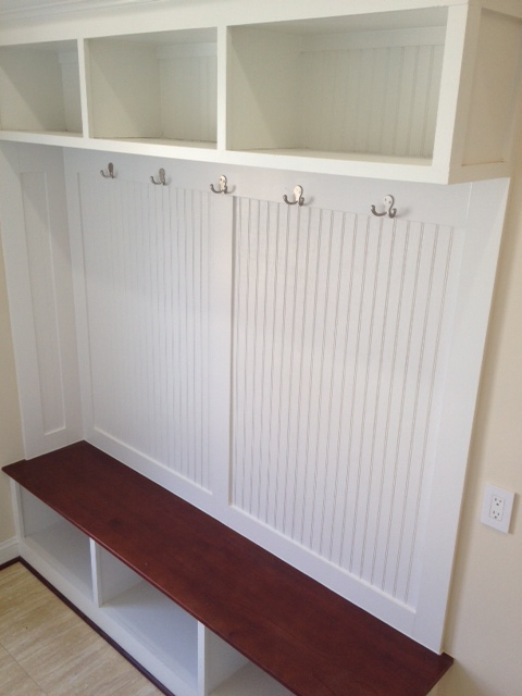 suck it up two tone mudroom cubbies