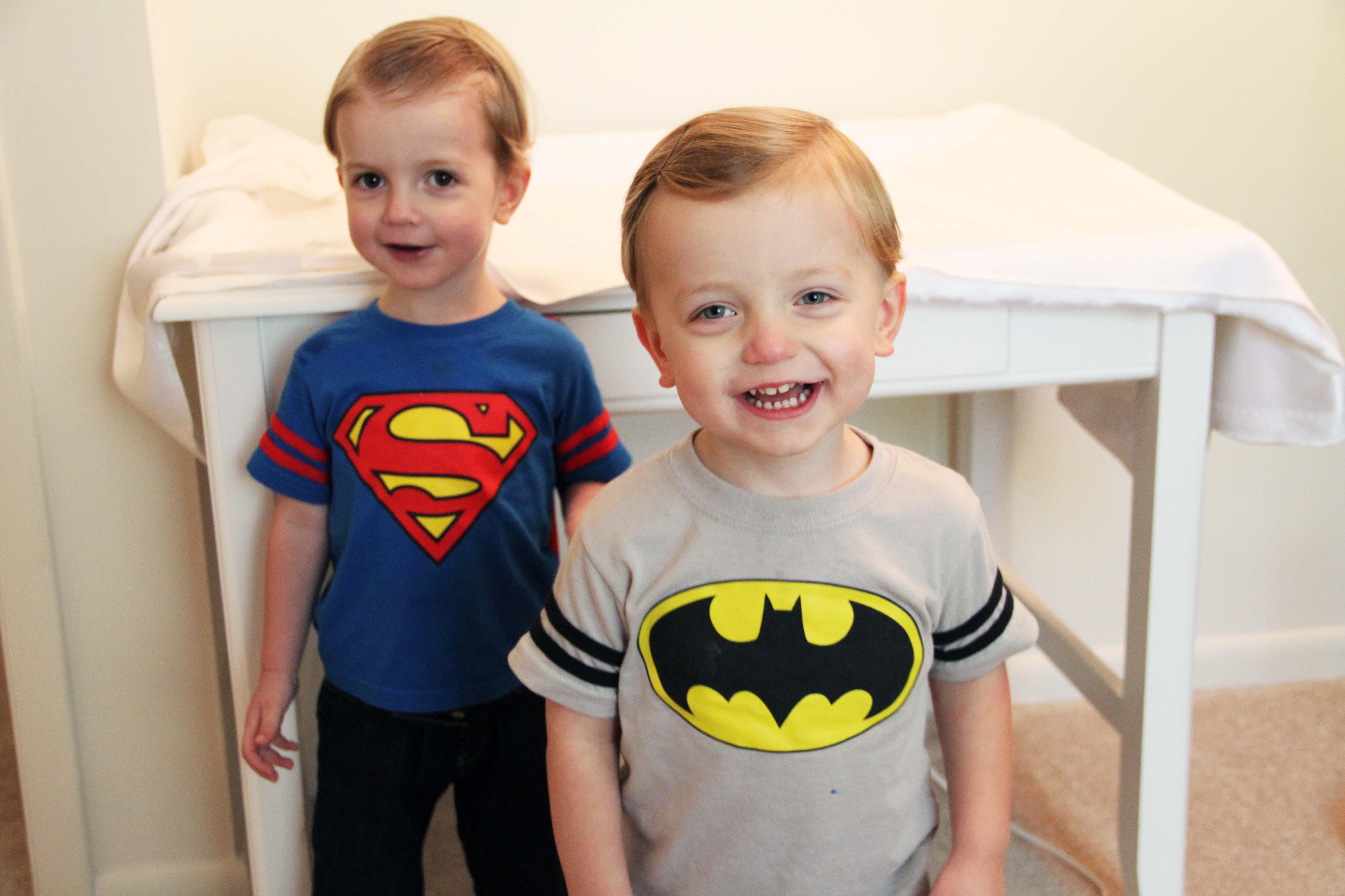 twins superman and batman 2