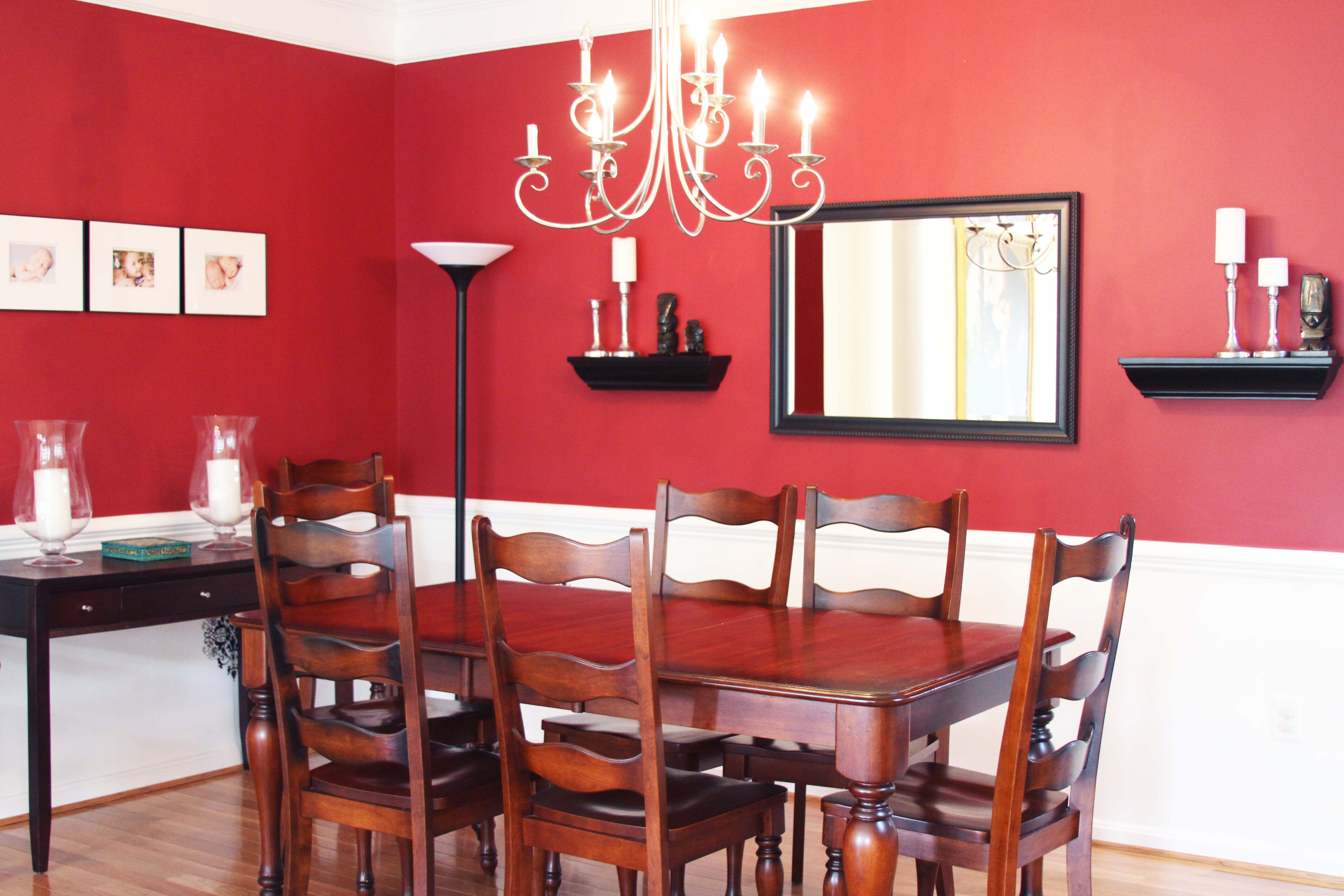Do It Yourself Dining Room Wainscoting And Repainting